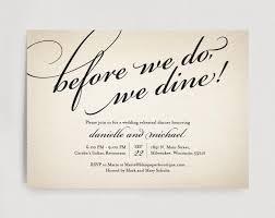 Wedding Rehearsal Dinner Invitation Editable Template