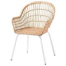 nilsove armchair rattan white ikea