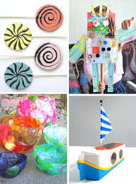Art And Craft Ideas From Waste Material In Hindi Summer Camp Crafts Pictures