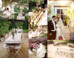 Rustic Garden Wedding Theme