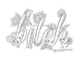 Coloring Pages Words 15 119 Melhores Imagens Sobre Swearing No Pinterest
