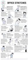 Yoga Ball Desk Chair Benefits by Best 25 Desk Exercises Ideas On Pinterest Office Workouts