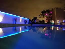 ip65 blue green and outdoor led lights