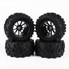 Buy New RC Parts 4Pcs/Set 1/10 Monster Truck Tire Tyres For Traxxas ... Jconcepts Shows Off New Golden Year Monster Truck Tires Big Best Rated In Rc Vehicle Wheels Helpful Customer Reviews How To Get Into Hobby Car Basics And Truckin Tested Bigfoot No 1 The Original Ford F100 110 Scale Trucks Hit The Dirt Truck Stop New Release Blog 17mm Hex Dollar Hobbyz Madness 2 Shaving A Set Of Rc4wd Rumbles Squid 4pcs 32 Rubber 18 150mm For For Or Howto Remove From Rims Goolrc High Performance Wheel Rim Tire