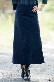 long a line corduroy skirt chadwicks of boston