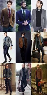 Mens Tweed Blazers Outfit Inspiration Lookbook