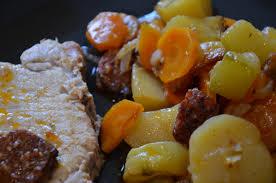 recette de cuisine portugaise facile roti de porc à la portugaise sevencuisine