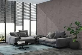 betontapete im industrial style grau braun taupe