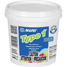 shop mapei type 1 off white mastic flooring adhesive 1 quart at