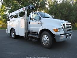West Auctions - Auction: 2005 Ford F650 Service Truck ITEM: 2005 ...