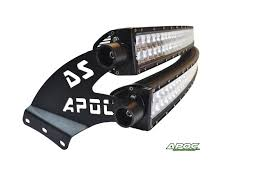 99-15 Ford Super Duty Apoc DOUBLE STACK Roof Mount And Light Bar Kit ...
