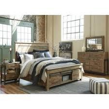 bedroom sets sommerford brown storage panel bedroom set from coleman