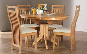 Oak Dining Sets For 6 Room Chair 4 Round Extending Table And Chairs Inspiring