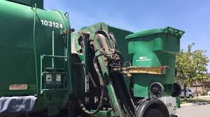 Waste Management Christmas Tree Pickup Orange County by Garbage Trucks Of Orange County Youtube
