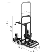 100 Hand Truck Stair Climber Climbing Trolley Cart Dolly
