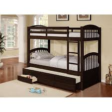 cameron twin over twin bunk bed with trundle and drawers free