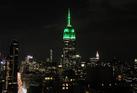 New York s Empire State Building lit green for Eid Life & Culture