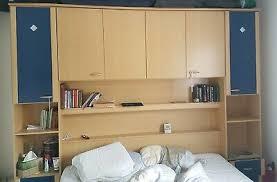 schlafzimmer bett überbau komplett mit lattenrost und