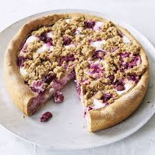 zuckerfreier kirsch quark kuchen