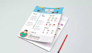 Best Infographic Resume Templates On Envato Elements With Unlimited Use