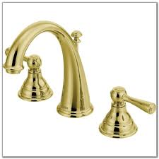 Polished Brass Bathroom Faucets Widespread by Widespread Bathroom Faucet Polished Brass Best Bathroom Decoration
