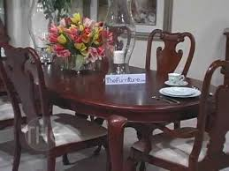 Perfect Cherry Dining Room Set Opulent With Oval Leg Table Grove Collection By American Drew Chair