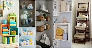 Bathroom Organization Ideas Diy by 15 Lovely Diy Bathroom Storage Ideas
