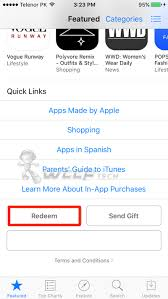 How To Redeem iTunes Gift Card iPhone iPad