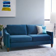 paidge sofa 86 5 quot living rooms blue couches and living