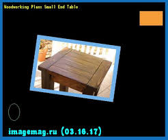 woodworking plans small end table the best image search