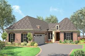 100 Narrow Lot Home Plan 11792HZ Acadian House Plan