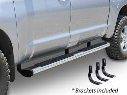 6 In. WIDESIDER Platinum Side Bars Kit- Alamo Auto Supply