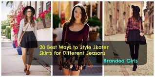Skater Skirts Outfits 20 Ways To Style For Chic Look