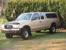 100 Toyota 4 Cylinder Trucks 1998 Tacoma X Sr5 Extended Cab Automatic Trans