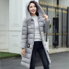 Plus Size Womens Cotton Filer Winter Coat Thick Pregnant Hooded Long Slim Design Down Overcoat Outerwear Mother Clothing In Coats From Kids