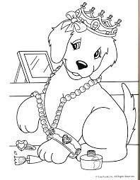 Lisa Frank Coloring Pages Pdf Dog Mermaid