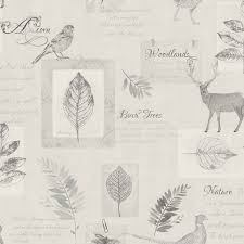 Tree Wall Decor Ebay by Stunning Stag Wallpaper Various Designs In Soft Natural Tones