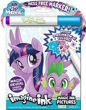 NEW 24pg My Little Pony The Movie Imagine Ink Magic Pictures Activity Book
