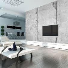 betonoptik tapete innenarchitektur wohnzimmer zimmer