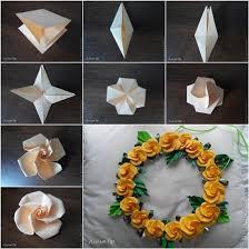 Origami Rose Paper Craft