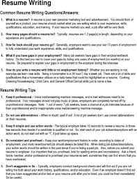 Resume Writing. Common Resume Writing Questions/Answers ... How Far Back Should Work History Go On A Resume Summary To Format Your For A Modern Job Search Topresume Examples Of Good Rumes That Get Jobs To Sample Customer Service Best Font Your Resume Canva Learn Beyond Career Success Builder Of 20 Cnet Write The Perfect For Any Free Experience Example Descriptions Many Years Madigan Minute 3 This Is In 2019