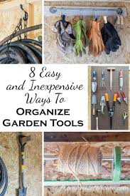 Rubbermaid Tool Shed Accessories by Best 20 Garden Tool Storage Ideas On Pinterest Garden Tool