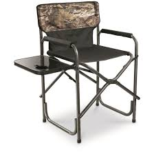 Guide Gear Oversized Tall Director's Chair, 500 Lb. Capacity, Mossy Oak  Break-Up COUNTRY 690grand Light Weight Oversized Portable Chair With Mesh Back Storage Pouch And Folding Side Table For Camping Outdoor Fishing 300 Lbs High Capacity Timber Ridge Lweight Bag And Carry Adjustable Harleydavidson Bar Shield Compact Xlarge Size W Ch31264 Steel Directors Custom Printed Logo Due North Deluxe Director Foldaway Insulated Snack Cooler Navy Model 65ttpro Tall Professional Executive With Best Chairs 2019 Onlook Moon Ultralight Alinum Alloy Barbecue Beach