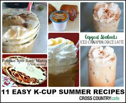 Pumpkin Spice Keurig by 11 Easy K Cup Pod Summer Recipes