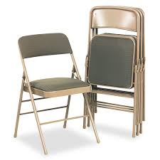 Meco Samsonite Folding Chairs by Padded Folding Chairs