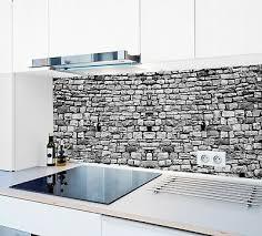 küchenrückwand steinwand sp671 premium acrylglas fugenlos