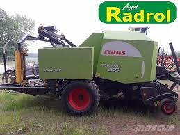 Christmas Tree Baler Used used claas 355 uniwrap round balers year 2008 price 23 265 for