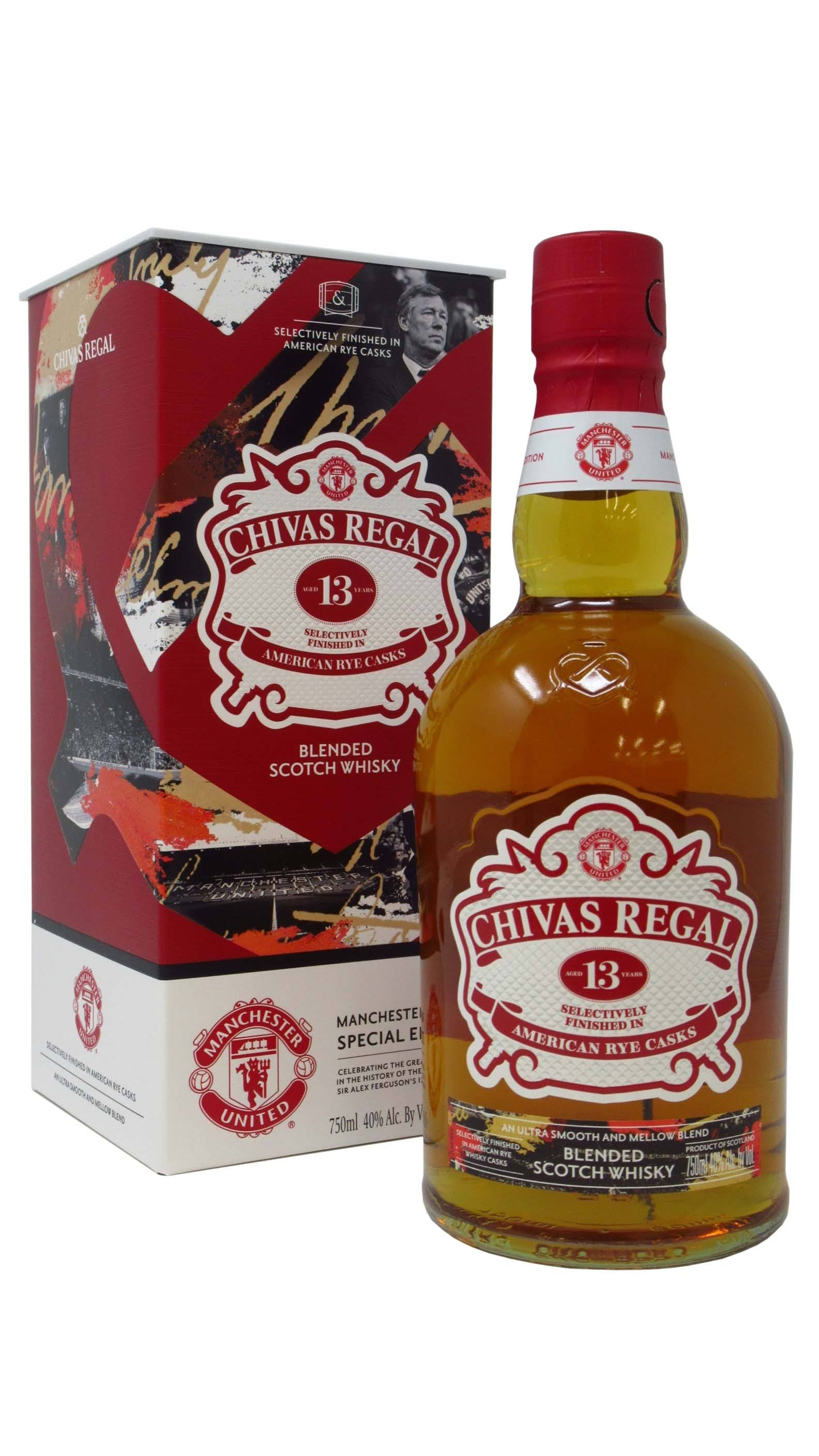 Chivas 13 Yr Aged in American Rye Barre 750ml | winefolder