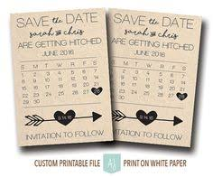 Printable Save The Dates In Rustic Style Completely Customizable To Your Fonts Colors And Styles Click Through For Matching Invites RSVPs Dir