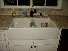 Whitehaus Farm Sink Drain by Sinks Interesting Farmhouse Sink With Drainboard And Backsplash